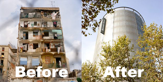 Raval before and After...